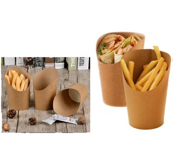 упаковка картошки фри